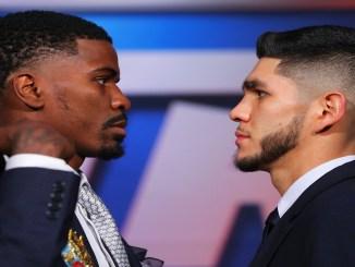Hooker vs Saucedo Face-Off