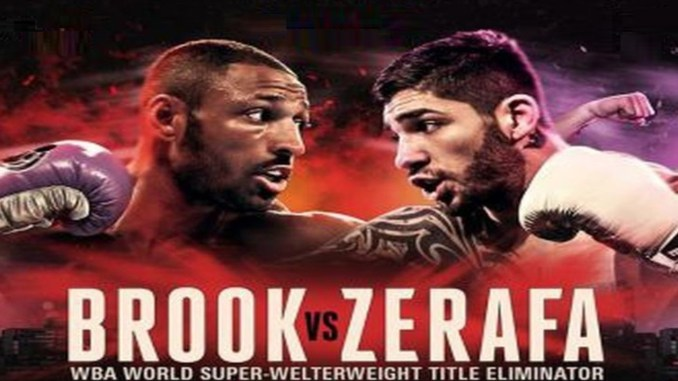 Kell Brook vs Michael Zerafa