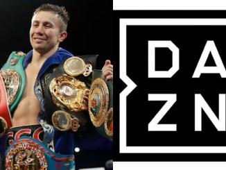 Gennady Golovkin and DAZN