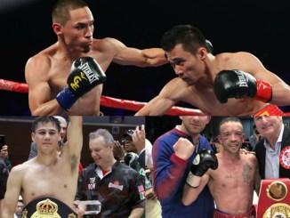 Srisaket Sor Rungvisai vs Juan Francisco Estrada I, Daniel Roman and TJ Doheny
