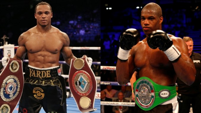 Anthony Yarde and Daniel Dubois