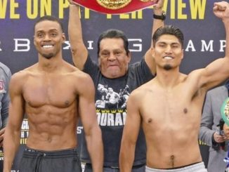 Errol Spence and Mikey Garcia