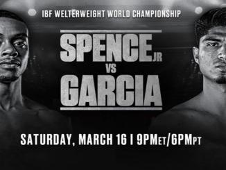 Errol Spence vs Mikey Garcia