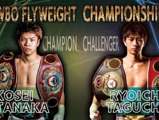 Kosei Tanaka vs Ryoichi Taguchi