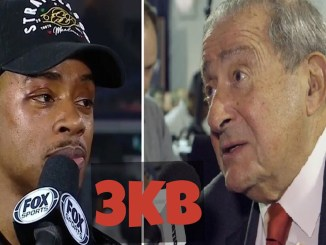 Errol Spence and Bob Arum
