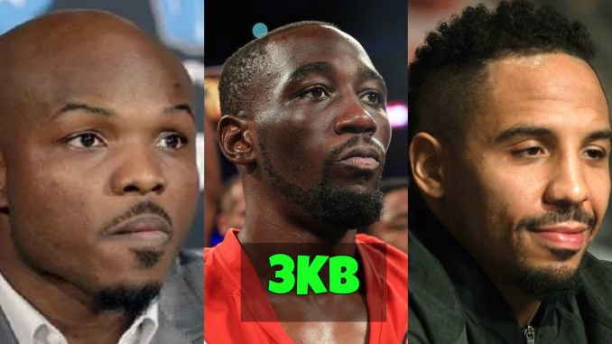 Tim Bradley, Terence Crawford and Andre Ward