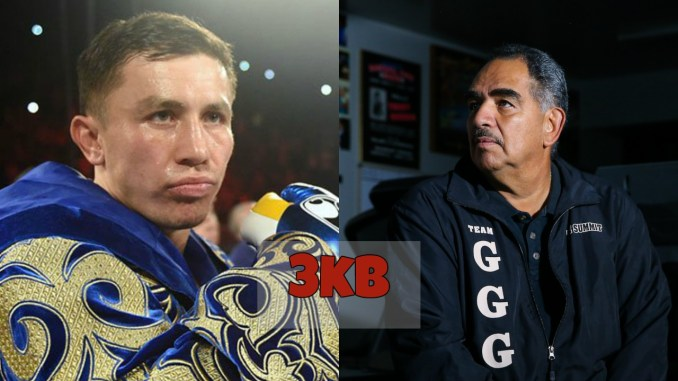 Gennady Golovkin and Abel Sanchez