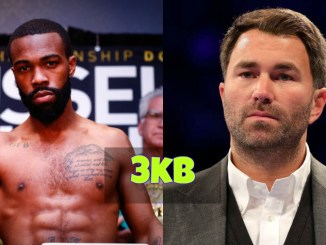Gary Russell Jr and Eddie Hearn