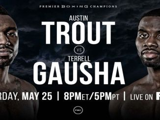 Austin Trout vs Terrell Gausha banner