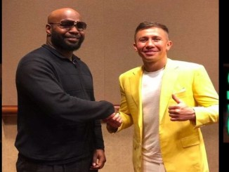 Jonathan Banks and Gennady Golovkin