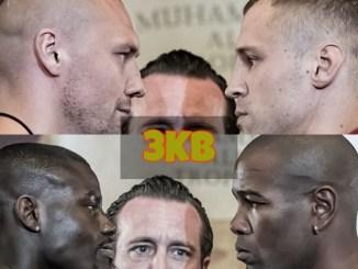 Mairis Briedis vs Krzysztof Glowacki and Yunier Dorticos vs Andrew Tabiti