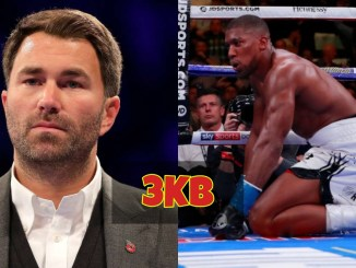 Eddie Hearn and Anthony Joshua Recovering From Knockdown