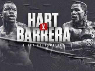 Jesse Hart vs Sullivan Barrera Poster