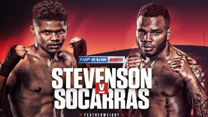 Shakur Stevenson vs Hairon Socarras