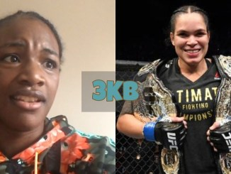 Claressa Shields and Amanda Nunes