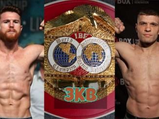 Canelo Alvarez, IBF title and Sergiy Derevyanchenko