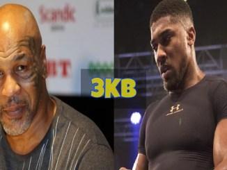 Mike Tyson and Anthony Joshua