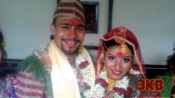 Keith Thurman and his wife Priyana Thapa