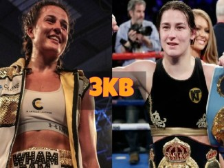 Chantelle Cameron and Katie Taylor