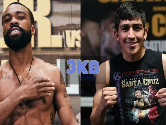 Gary Russell Jr vs Leo Santa Cruz