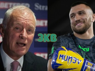 Barry Hearn and Vasiliy Lomachenko