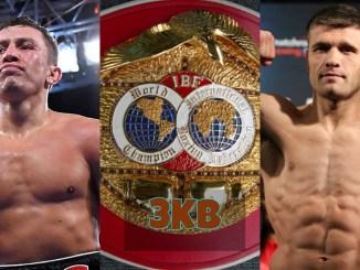 Gennady Golovkin, IBF Title and Sergiy Derevyanchenko.