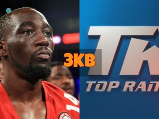Terence Crawford and the Top Rank Logo