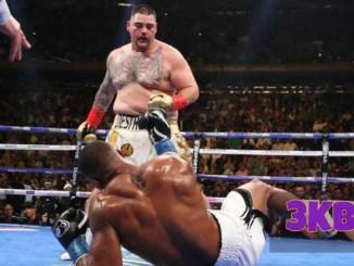 Andy Ruiz Drops Anthony Joshua