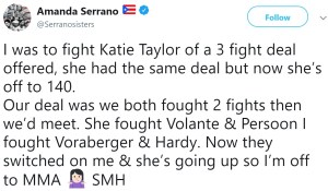 Amanda Serrano via Twitter