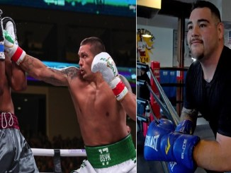 Usyk vs Witherspoon, Andy Ruiz