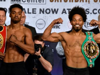 Errol Spence and Shawn Porter