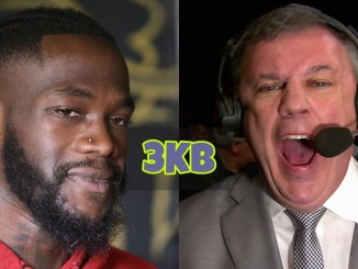 Deontay Wilder and Teddy Atlas