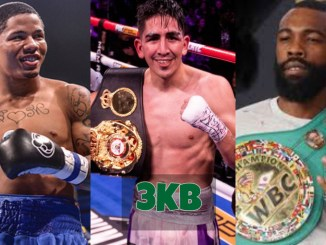 Gervonta Davis, Leo Santa Cruz and Gary Russell Jr