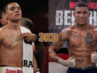 Oscar Valdez and Miguel Berchelt