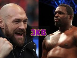 Tyson Fury Takes Dillian Whyte's WBC Mandatory Position!