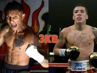 Miguel Berchelt and Oscar Valdez