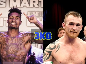 Jermall Charlo and Dennis Hogan