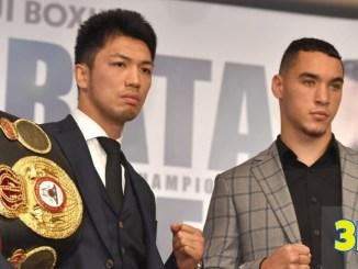 Ryota Murata (left) and Steve Butler