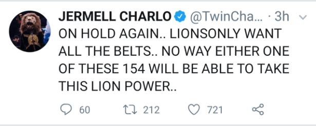 Jermell Charlo Waits Again