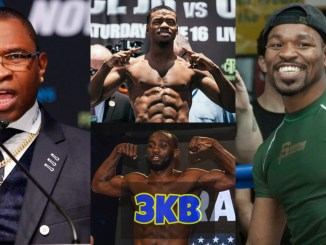 Kenny Porter, Errol Spence Jr, Terence Crawford, Shawn Porter.