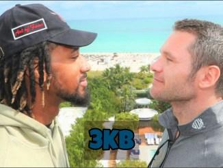 Demetrius Andrade and Luke Keeler face-off