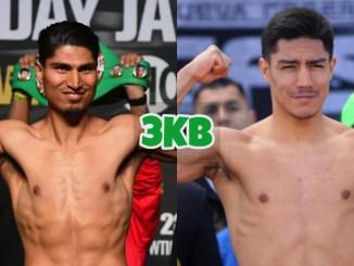 Mikey Garcia (left), Jessie Vargas