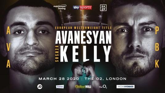 David Avanesyan vs Josh Kelly Fight Banner