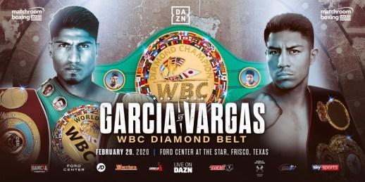Mikey Garcia vs Jessie Vargas WBC Diamond Belt Banner