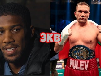 Anthony Joshua and Kubrat Pulev