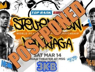 Shakur Stevenson v Miguel Marriaga Postponed!