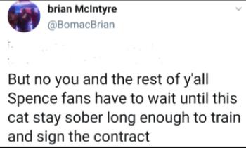 Brian McIntyre goes after Errol Spence on social media