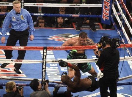 Joe Smith Puts Bernard Hopkins Out Of The Ring