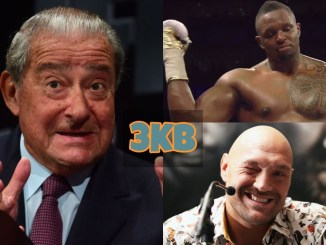 Bob Aurm, Dillian Whyte and Tyson Fury