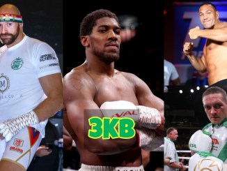 Tyson Fury, Anthony Joshua, Kubrat Pulev and Oleksandr Usyk